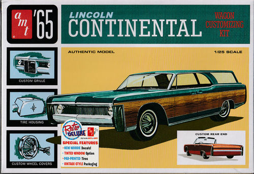 1965 Lincoln Continental Wagon Customizing Kit Wagon,Convertble,Custom