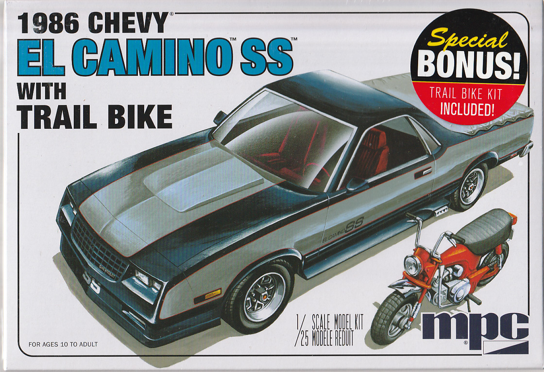 1986 chevy el camino ss mit mini bike u s car models. Black Bedroom Furniture Sets. Home Design Ideas