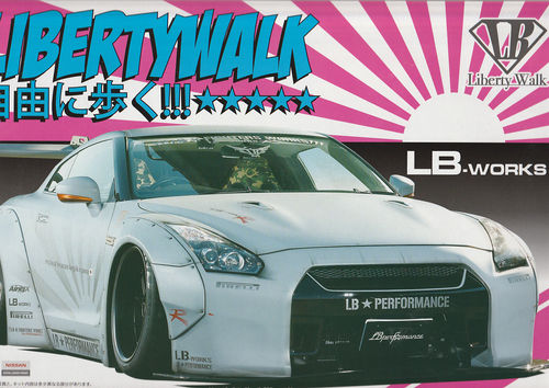 Nissan Skyline GT-R Libertywalk LB-Works