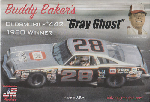 Buddy Baker's ''Gray Guost'' Oldsmobile 442  1980 Winner