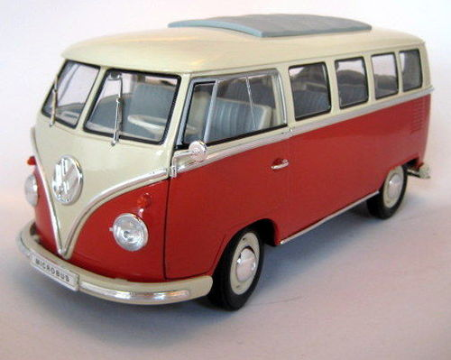 1963 Volkswagen T1 Bus red/cream