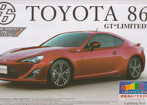 Toyota 86 GT Limited Pre Painted