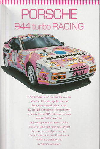 Porsche 944 turbo Racing ,,Blaupunkt''
