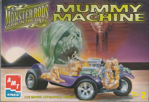 Mummy Machine Monster Rod's