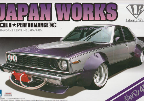 Nissan Skyline 4 Door LB-Works Japan