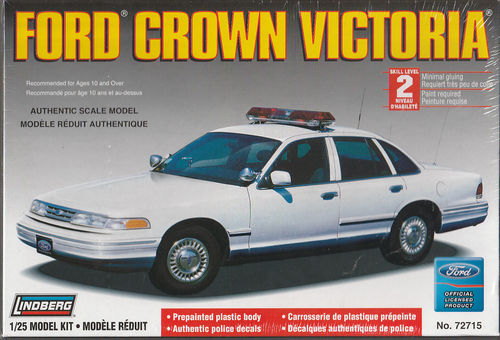 Ford Crown Victoria Police Car neutral/weiß