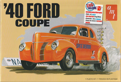 1940 Ford Coupe 3in1 Kit Stock,Custom,Racing.