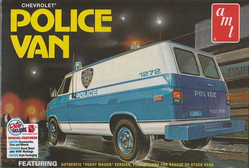 Chevy Police Van ,,New York City''