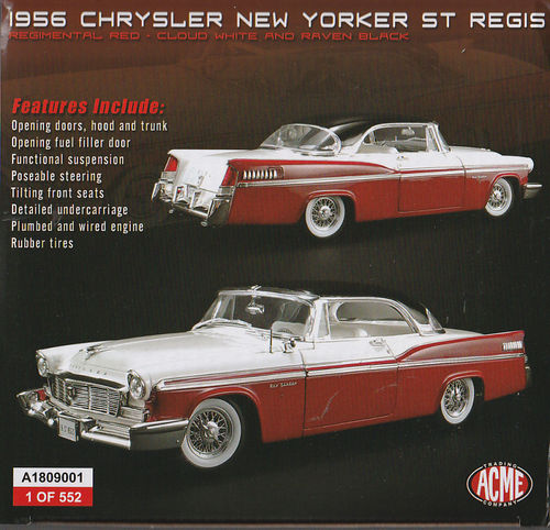 1956 Chrysler New Yorker ST Regis Limitiert 1of 552 rot/weiß