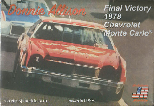 Donnie Allison Final Victory 1978 Chevy Monte Carlo