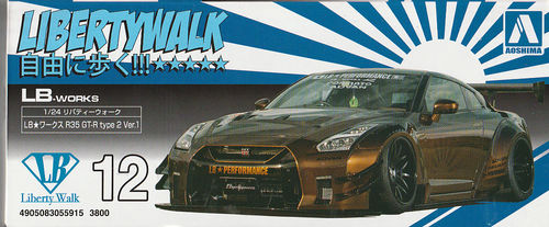 Nissan Skyline GTR R35  Libertywalk type 2