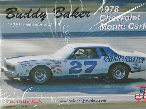 #27 Buddy Backer's 1978 Chevy Monte Carlo NASCAR