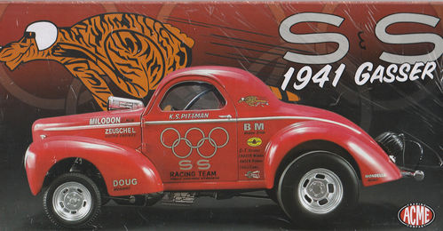 K.S.Pittman's 1941 Willys Gasser Limitiert 1of 828