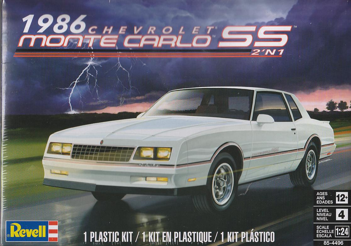 1986 Chevy Monte Carlo Ss 2in1 Kit U S Car Models Ihr