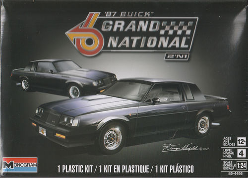 1987 Buick Grand National 2in1 Bausatz