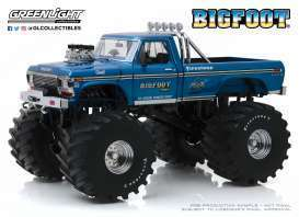 1974 Ford F-250 Monster Truck w.48inch Tires Big Foot Kings of Crunch