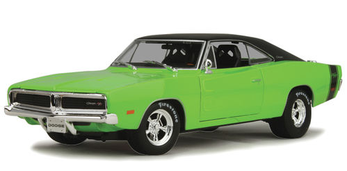 1969 Dodge Charger R/T HEMI green Maisto Design Serie