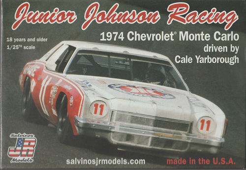 1974 Chevy Monte Carlo Driven by Cale Yarborough Junior Johnsen Racing