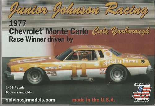 Junior Johnson 1977 Chevy Monte Carlo #11 Cale Yarborogh