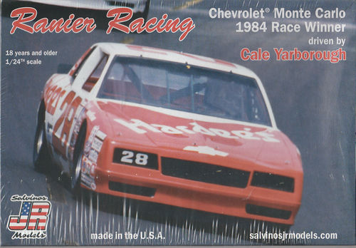 Rainer Racing Cale Yarborough 1984 Chevy Monte Carlo #28 ,,HARDEES''