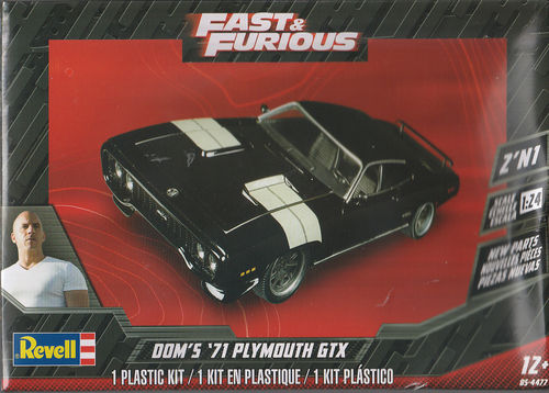 Dom's 1971 Plymouth GTX Fast & Furious
